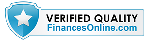 Finances Online reviews badge