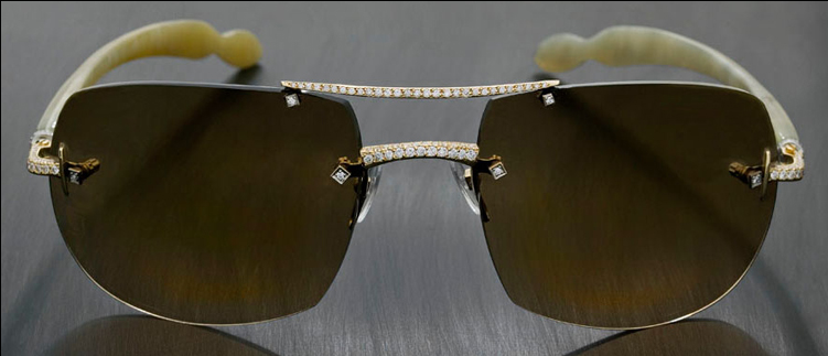 49bc4807ad 10 Most Expensive Sunglasses In The World  Cartier