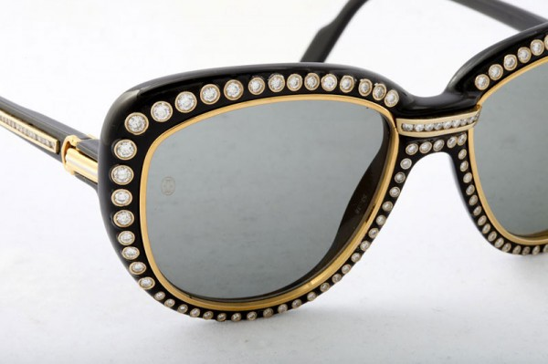 ccefe6b26f Most sunglasses have plastic or metallic frames. But this one take takes  the cake as it has costly embellishments that drive up the price to a  handsome 25k ...