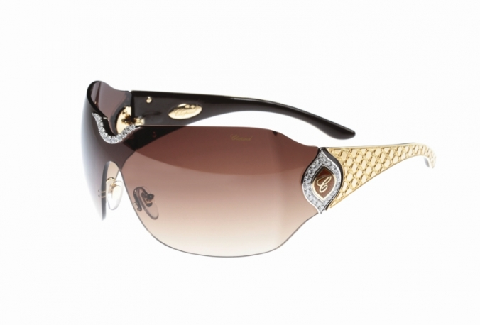 aeab13fc715d Noted sunglasses maker De Rigo Vision crafted this masterpiece for famed  Swiss Jewelry house Chopard and it was showcased in Dubai in May