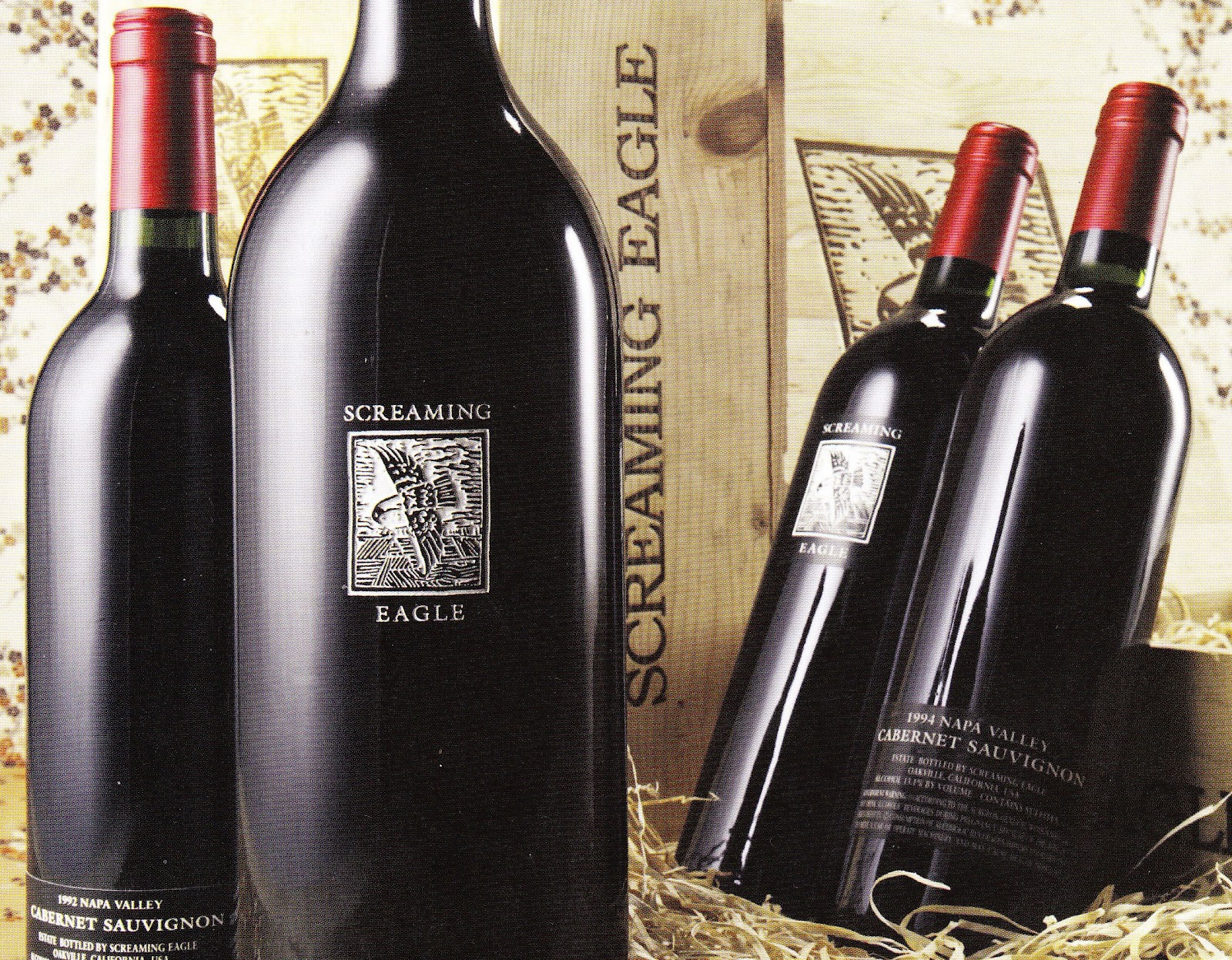 1. Screaming Eagle Cabernet 1992 $500,000. The most expensive red wine ...