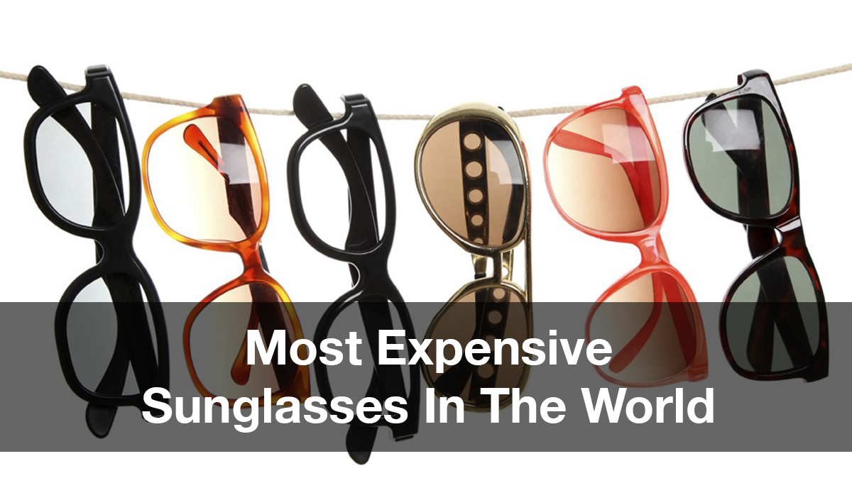 7ce7e1a4b50 10 Most Expensive Sunglasses In The World  Cartier