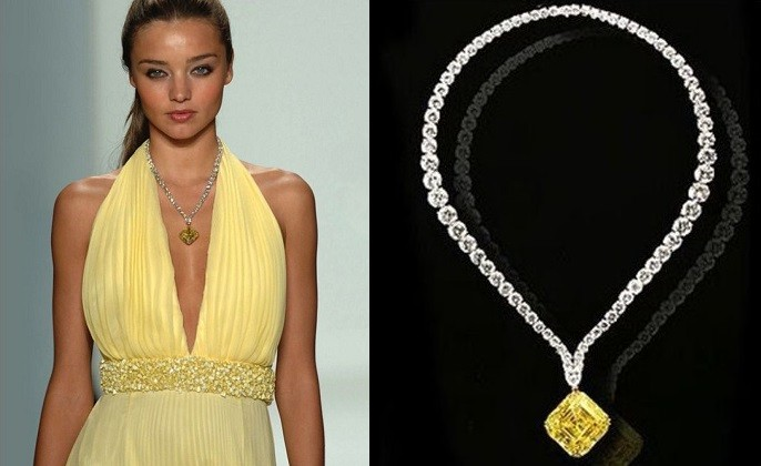 rose a reuters gold media october now removed necklace most diamond stand singapore in yellow just world event for expensive carat sale image on million with is from during s