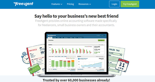 FreeAgent Reviews: Pricing, Features & Overview