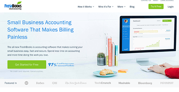 FreshBooks Reviews: Pricing, Overview & Features of freshbooks com |  FinancesOnline