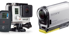 Want To Record Some Action? Compare GoPro Hero 3+ and Sony Action Cam