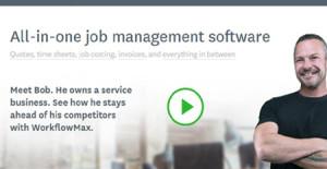 Logo of WorkflowMax