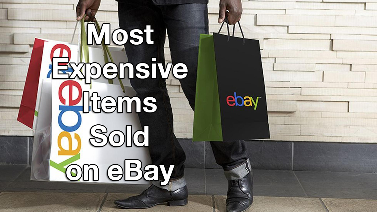 10 Most Expensive Items Ever Sold On Ebay Top Spot Bought