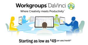 Logo of Workgroups DaVinci