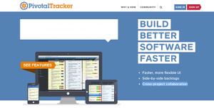 Logo of Pivotal Tracker