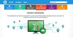 Logo of HP Service Anywhere