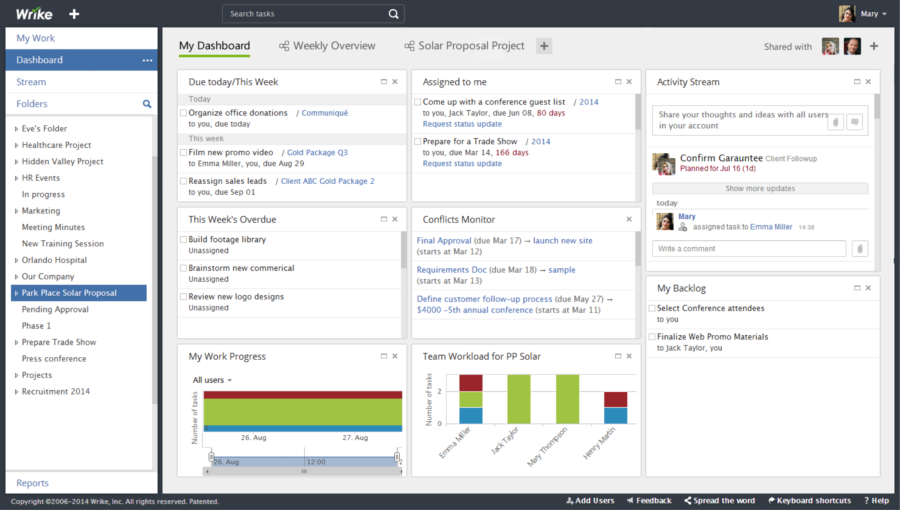 Wrike Screenshots A Visual Guide To Project Management