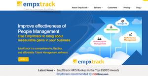 Logo of EmpXtrack