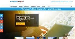 Logo of SuccessFactors