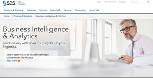 Logo of SAS Business Intelligence