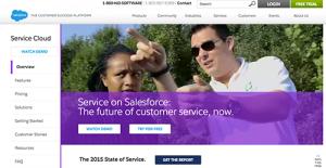 Logo of Salesforce Service Cloud