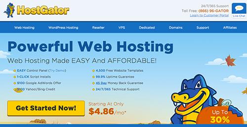 hostgator best hosting site 2020