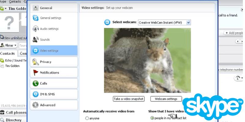skype–web