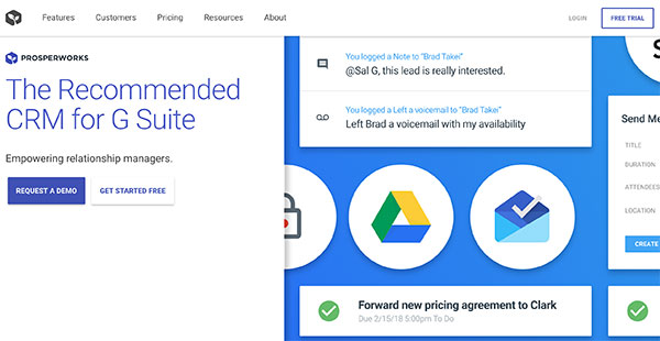 ProsperWorks Reviews: Overview, Pricing and Features