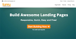 Logo of Sunny Landing Pages