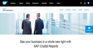 Logo of SAP Crystal Reports