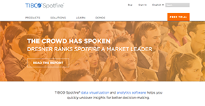 TIBCO Spotfire Reviews: Overview, Pricing and Features