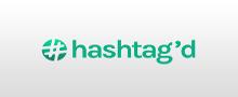 Logo of Hashtag'd