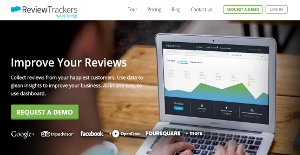 Logo of ReviewTrackers