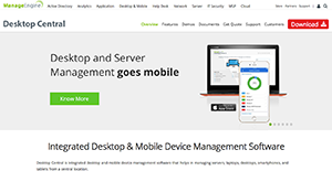 ManageEngine Desktop Central Reviews: Overview, Pricing and Features