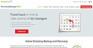 ManageEngine RecoveryManager Reviews: Overview, Pricing and Features