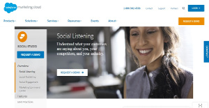 Logo of Salesforce Social Studio