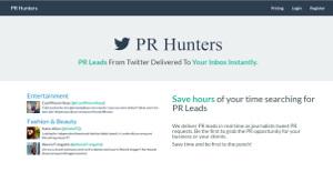 Logo of PR Hunters