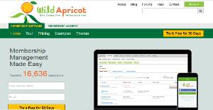 Logo of Wild Apricot