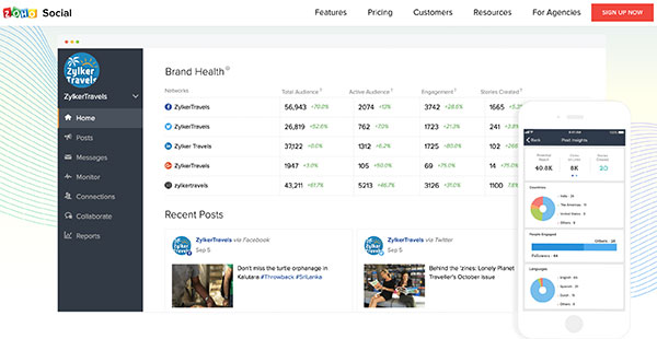 Zoho Social Reviews: Overview, Pricing and Features