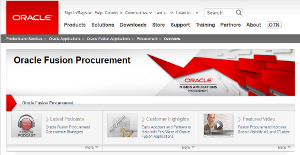 Logo of Oracle Fusion Procurement