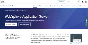 Logo of IBM WebSphere