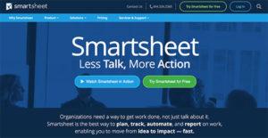 Logo of Smartsheet