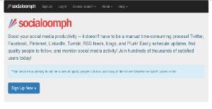 Logo of SocialOomph