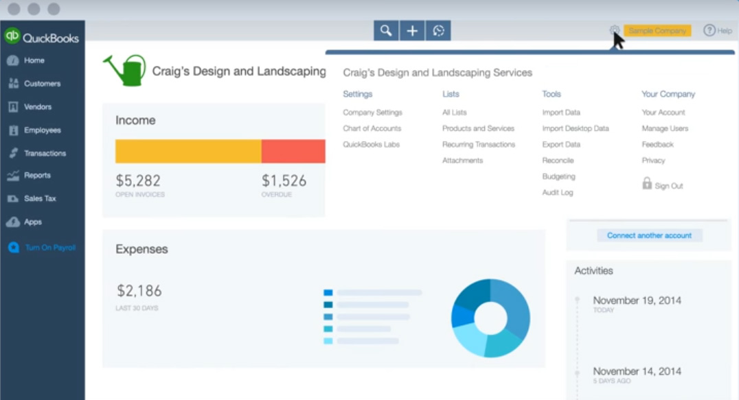 What Accounting Software Do Startups Use Financesonlinecom - Create invoice software for service business