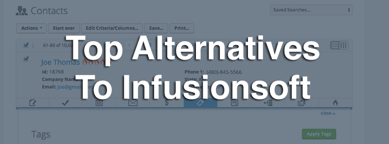 Top Alternatives To Infusionsoft