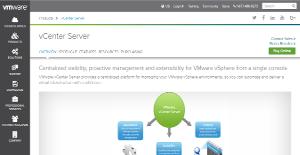 Logo of VMWare vCenter Server
