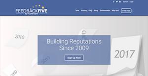 Logo of FeedbackFive