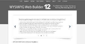 Logo of WYSIWYG Web Builder