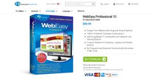 Logo of WebEasy Professional 10