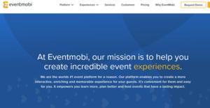 Logo of EventMobi