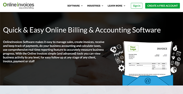 online invoices reviews overview pricing and features