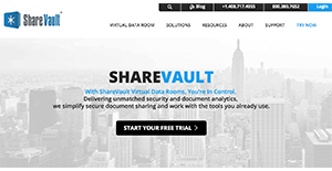 ShareVault Reviews: Overview, Pricing and Features