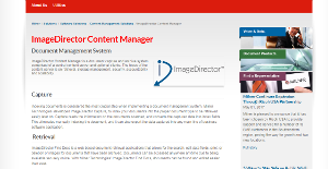 Logo of ImageDirector Content Manager