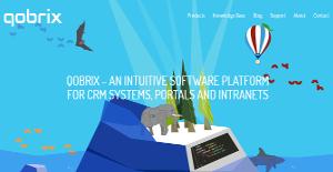 Logo of Qobrix CRM