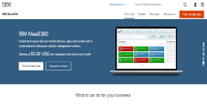 IBM MaaS360 Reviews: Overview, Pricing and Features